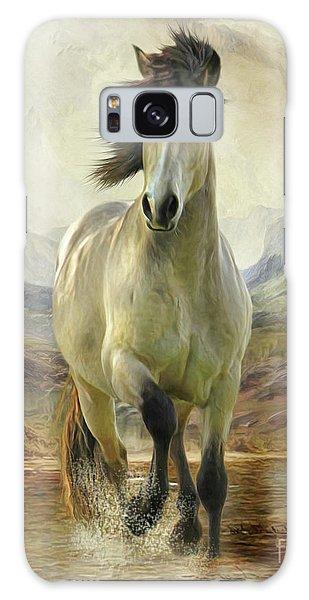 Connemara Pony Of The Moors Galaxy Case