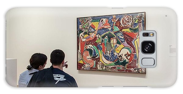 Art Institute Galaxy Case - Considering Pollock by David Bearden
