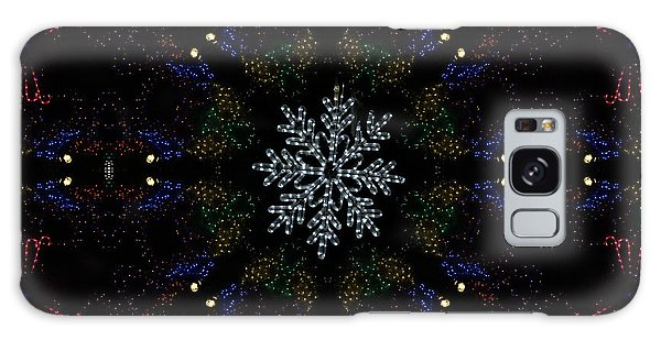 Continuous Christmas Lights Galaxy Case