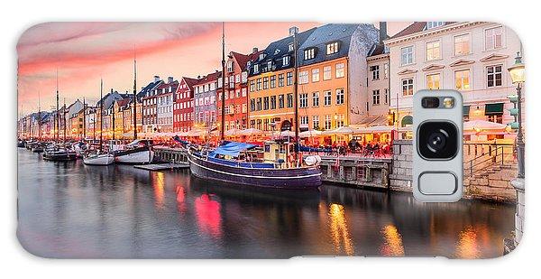 Travel Destinations Galaxy Case - Copenhagen, Denmark On The Nyhavn Canal by Sean Pavone