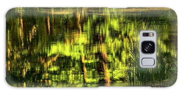 Coquille Forest Reflections Galaxy Case