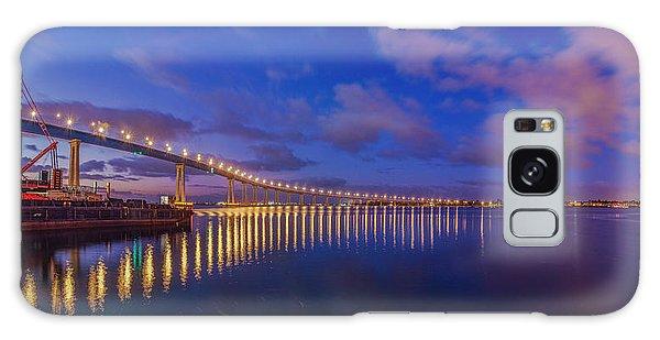 Coronado Bridge Sunrise - Panorama Galaxy Case