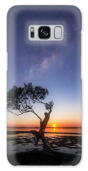 Astro Galaxy Case - Cosmic Tree by Damian McCudden