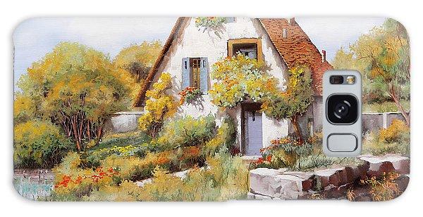 English Galaxy Case - Cottage by Guido Borelli