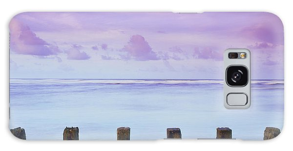Cotton Candy Skies Over The Sea Galaxy Case