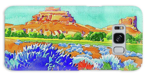 Galaxy Case featuring the painting Courthouse And Jail Watercolor by Dan Miller