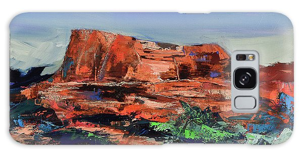 Courthouse Butte Rock - Sedona Galaxy Case