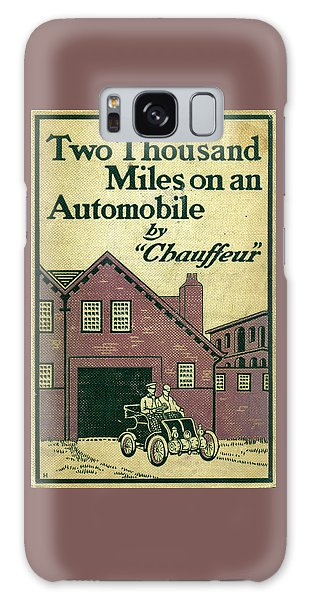 Cover Design For Two Thousand Miles On An Automobile Galaxy Case