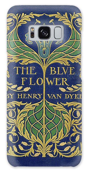 Cover Design For The Blue Flower Galaxy Case