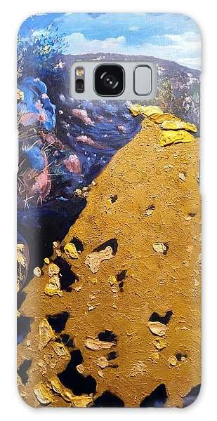Galaxy Case featuring the painting Cowles Mountain by Ray Khalife