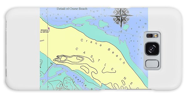 Crane Beach Galaxy Case
