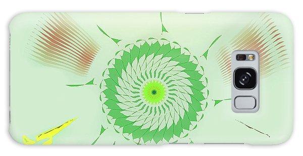 Crazy Spinning Flower Galaxy Case