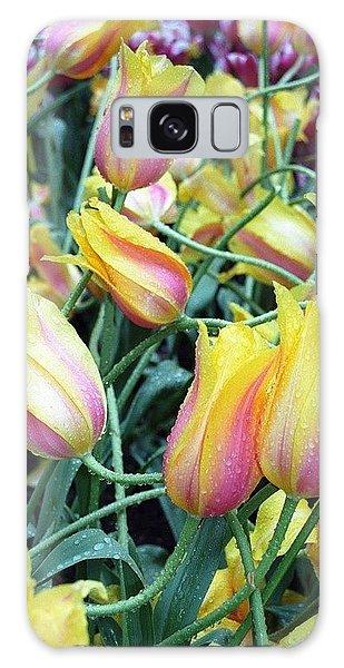 Crazy Tulips Galaxy Case
