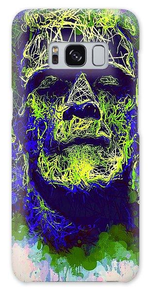 Frankenstein Watercolor Galaxy Case