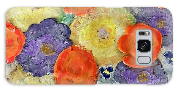 Crochet Bouquet Galaxy Case