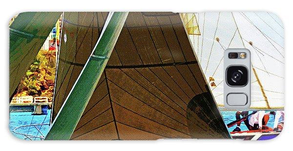 Crossing Sails Galaxy Case