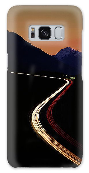 Galaxy Case featuring the photograph Crossing The Alps by Edmund Nagele