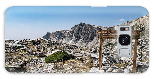Crossroads At Medicine Bow Peak Galaxy Case