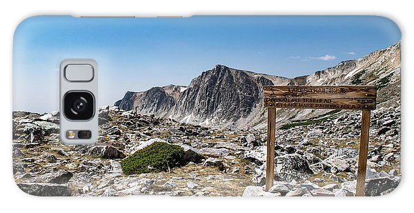 Crossroads At Medicine Bow Peak Galaxy Case