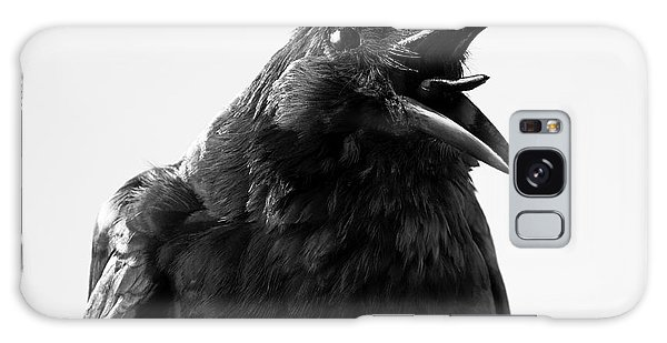 Claws Galaxy Case - Crow In Studio by Redpip1984