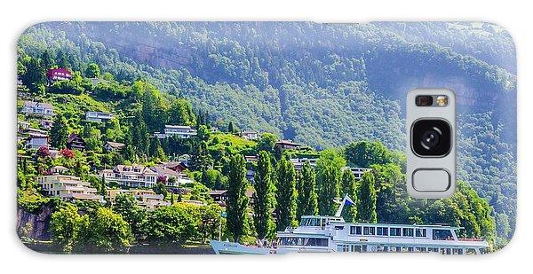 Cruising Lake Lucerne Galaxy Case