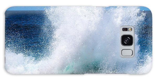 Powerful Galaxy Case - Cuba. Island. Ocean. Sea. Waves by Seirceil