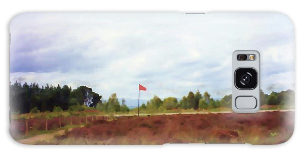 Culloden Battlefield Painting Galaxy Case