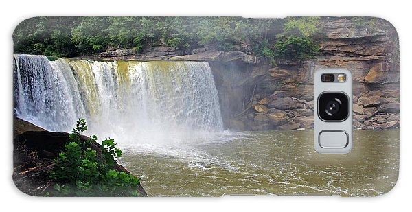 Galaxy Case featuring the photograph Cumberland Falls Kentucky by Angela Murdock