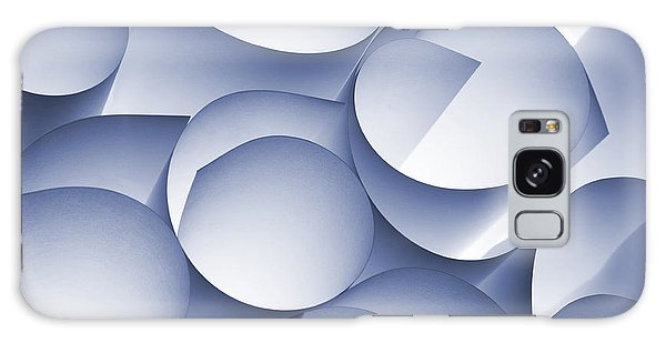 Form Galaxy Case - Curly Paper Abstract by Daniel M. Nagy