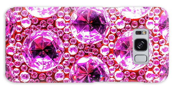 Cut Glass Beads 6 Galaxy Case