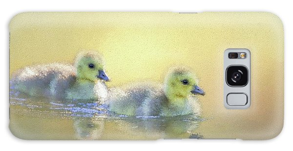 Gosling Galaxy Case - Cute Little Swimmers by Eva Lechner
