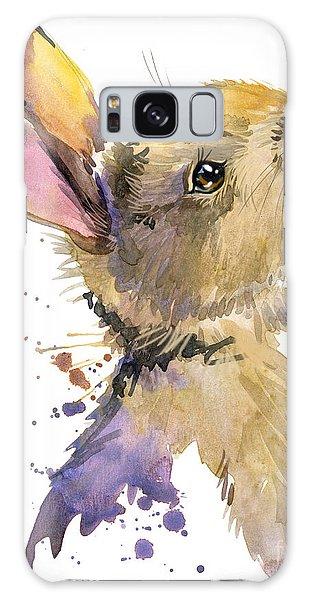 Young Galaxy Case - Cute Rabbit. Hare. Watercolor by Faenkova Elena