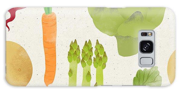 Potato Galaxy Case - Cute Seamless Vegetable Pattern On by Irtsya