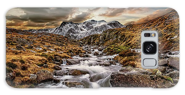 Galaxy Case - Cwm Idwal Snowdonia Sunset by Adrian Evans