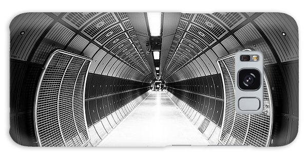 Hallway Galaxy Case - Cylindric Tunnel For Pedestrians by Jose As Reyes