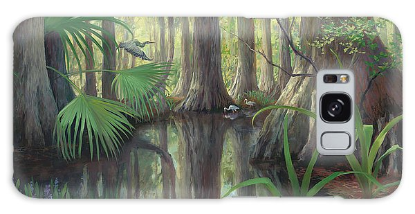 Old Florida Galaxy Case - Cypress Swamp by Laurie Snow Hein