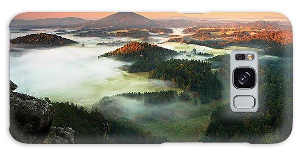 Plane Galaxy Case - Czech Typical Autumn Landscape. Hills by Ondrej Prosicky