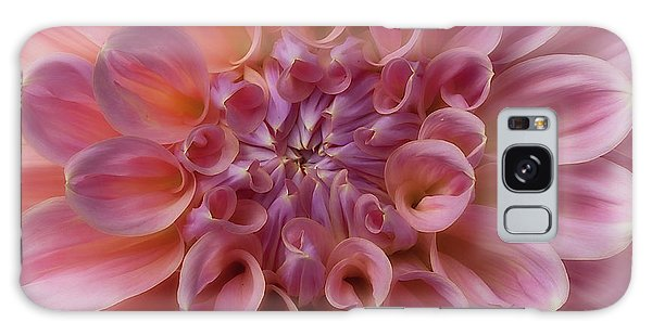 Galaxy Case featuring the photograph Dahlia 'mingus Philip Sr' by Ann Jacobson