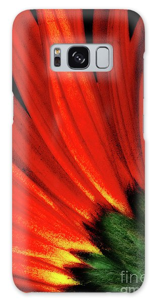 Daisy Aflame Galaxy Case