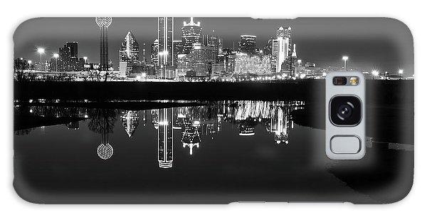 Dallas Texas Cityscape Reflection Galaxy Case