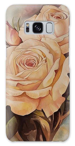 Damask Roses Galaxy Case