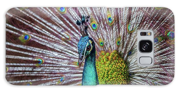 Dancing Indian Peacock  Galaxy Case