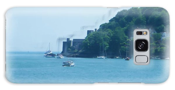 Dartmouth Castle Painting Galaxy Case
