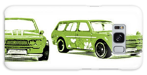 Old Car Galaxy Case - Datsun 510 Comic Strip by Jorgo Photography - Wall Art Gallery