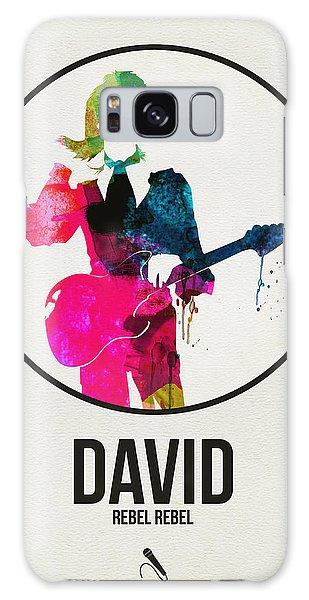 Classic Rock Galaxy Case - David Bowie Watercolor by Naxart Studio
