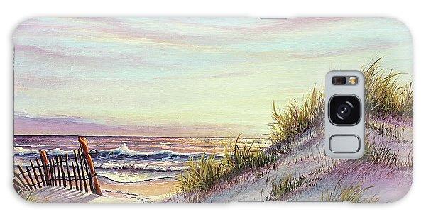 Dawn At The Beach Galaxy Case