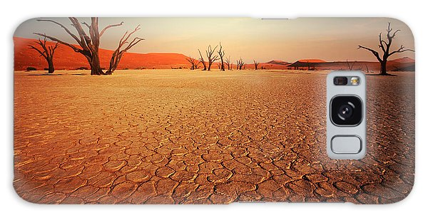 Scenery Galaxy Case - Dead Valley In Namibia by Galyna Andrushko