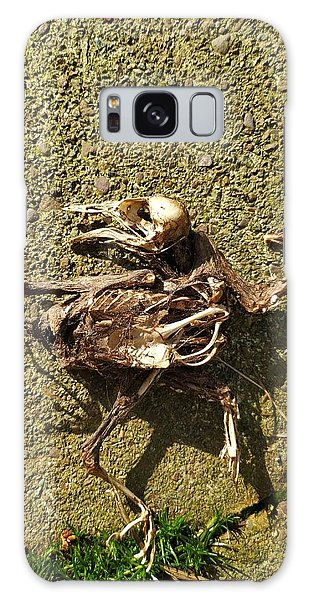 Death Shows Us We Are Nothing But Bones Galaxy Case
