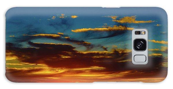 December 17 Sunset Galaxy Case