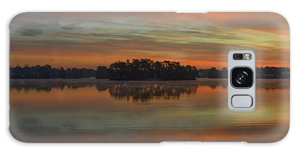 December Sunrise Over Spring Lake Galaxy Case